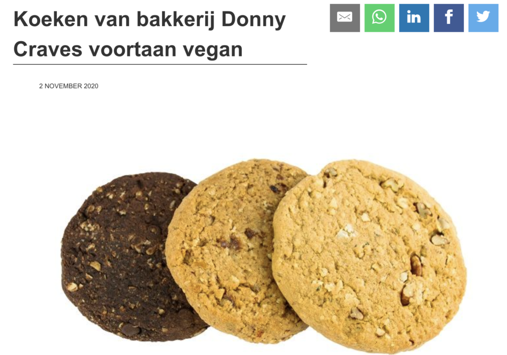 Bakkers in bedrijf Donny Craves